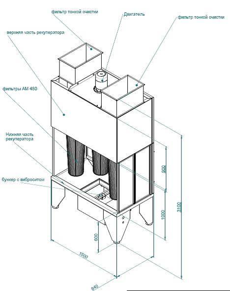 Схема с применением опционального оборудования